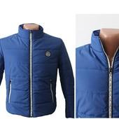 Мужская весенняя демисезонная стеганная куртка(код 244)