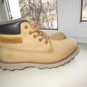 Кожаные ботинки Cat Caterpillar 43 р