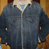 Стильная фирменная брендовая курточка  Levi's (Левис).л-хл .