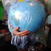 Большой Глобус - политический на украинском языке