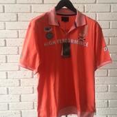 Мужская-поло оранжевая 4xl
