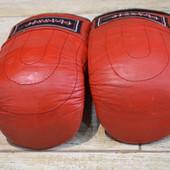 Лапы боксерские, перчатки кожанные. Classic sports взрослые