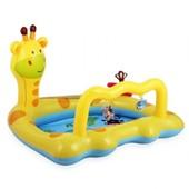 Детский надувной бассейн Intex для самых маленьких. 2 погремушки