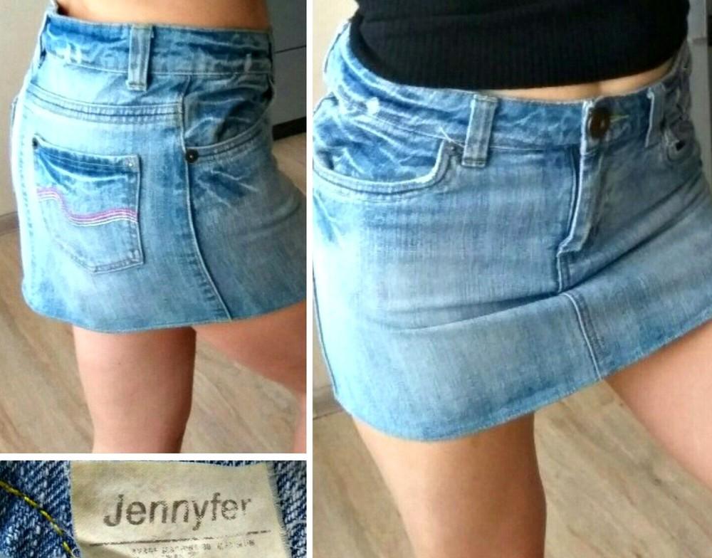 Юбка мини джинс Jennyfer С-М фото №1