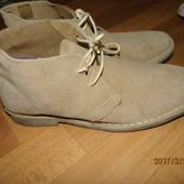 (№553)фирменные замшевые ботиночки 41-42 р Uk 8 Asos