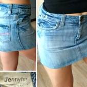 Юбка мини джинс Jennyfer С-М