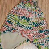 Распродажа - Зимняя шапка на флисе фирмы Joe Boxer на ОГ - от 56см