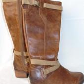 UGG ! Шикарные кожаные сапоги -  37 - 38 размер