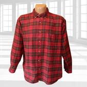 Теплая фланелевая рубашка в клетку Rugged Wear Сша