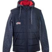 Весенняя подростковая куртка -жилетка ,размеры 46-52 ,опт и розница S475