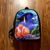 Кожаный рюкзак на 3-6 л.