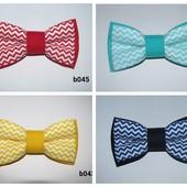 Бабочка, галстук-бабочка зигзаги
