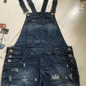 Фирменный джинсовый комбенизон