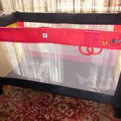 Продам фирменный игровой(дорожный) манеж-кровать Baby Club(Польша)
