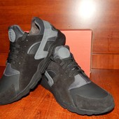 Мужские кожаные кроссовки Nike Air Huarache 44р. Распродажа!