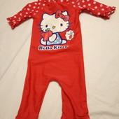 Купальный костюм Китти на 3-4 года