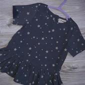 Шикарная блузочка 2-3 г 98 см Next