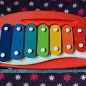 Ксилофон металлофон каталка детский большой Little tikes