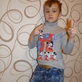 Гольф,батник,водолазка (2х нитка)4,5,6,7,8 лет100%хлопок Турция (отличное качество)(мальчик,девочка)