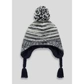 Matalan, вязаная зимняя шапка в полоску для мальчика