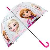 Зонтик Frozen прозрачный, детский зонт
