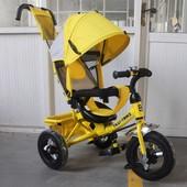 Велосипед трехколесный Tilly Camaro T-364 надувные колеса
