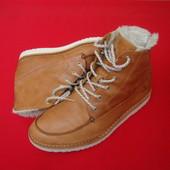 Ботинки J Shoes натур кожа 45-46 разм