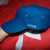 Фирменная оригинальная стильная  кепка Uefa 55-58