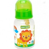 Бутылочка для кормления с латексной соской от Baby Team