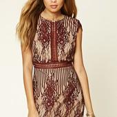 Нарядное платье forever21