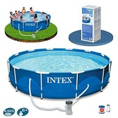 Каркасный бассейн Intex 28210 Metal Frame Pool (366х76)