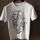 Мужская футболка белая m xl