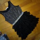 Нарядное платье H&M 10-11 лет,можно и раньше, отл.сост.замеры внутри!!!