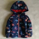 Куртка в машинки на теплую весну-осень