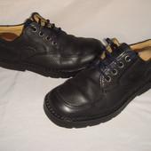 Туфли мужские р.40 фирмен. Camel boots, черные, демисезон