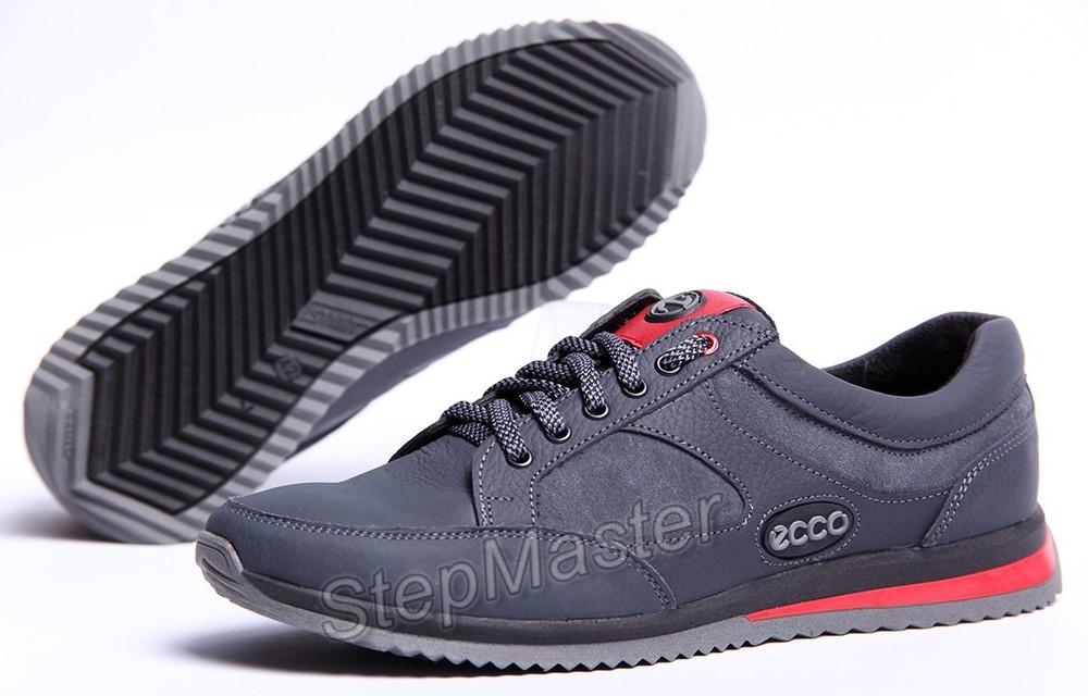 Кроссовки кожаные ECCO Grey фото №1