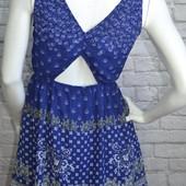 Шифоновое платье Н&M, XS/S
