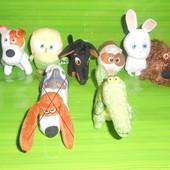 Игрушки Макдональдс Домашние животные