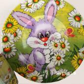 Детский подарочный набор посуды с мультяшными героями - 3 предмета - фарфор