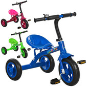 Трехколесный велосипед Bambi M 3252 с колесами Eva Foam