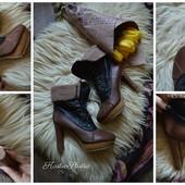 Ботинки Jeffrey Campbell оригинал,р-р 40