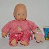 Очень редкий малыш куколка пупс кукла оригинал Zapf Creation запф шу шу
