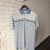 Мужская футболка голубой M
