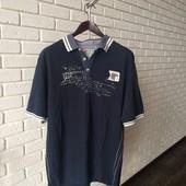 Мужская футболка синяя 5Xl
