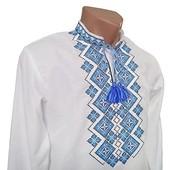 Сорочка чоловіча, рубашка мужская, орнамент святкова