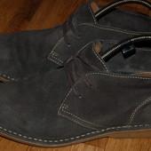 Кожаные ботинки туфли River Iceland 43 р