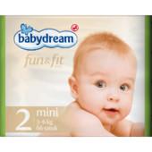 Подгузники BabyDream Fun & Fit 2 mini (3-6 кг)