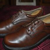 Туфли натуральная кожа Clarks Cushion Gell Uk8 недорого