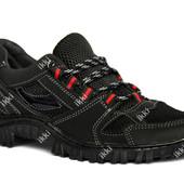 Мужские удобный мягкие кроссовки с сеткой (КС-17)