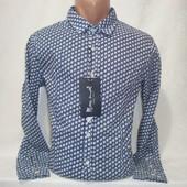 Мужская рубашка с длинным рукавом Maximal